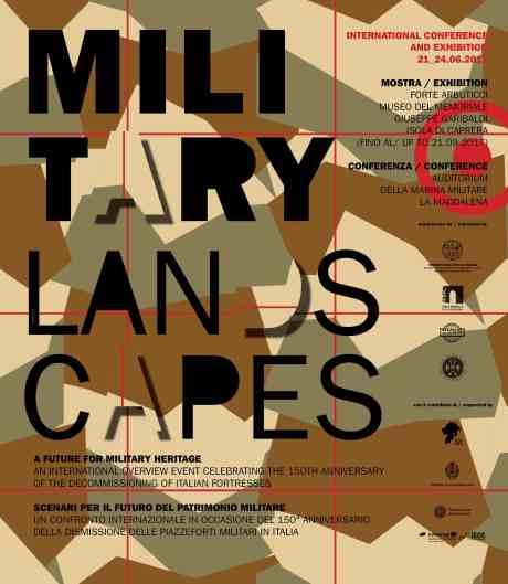 locandina 50x70 b c military landscapes