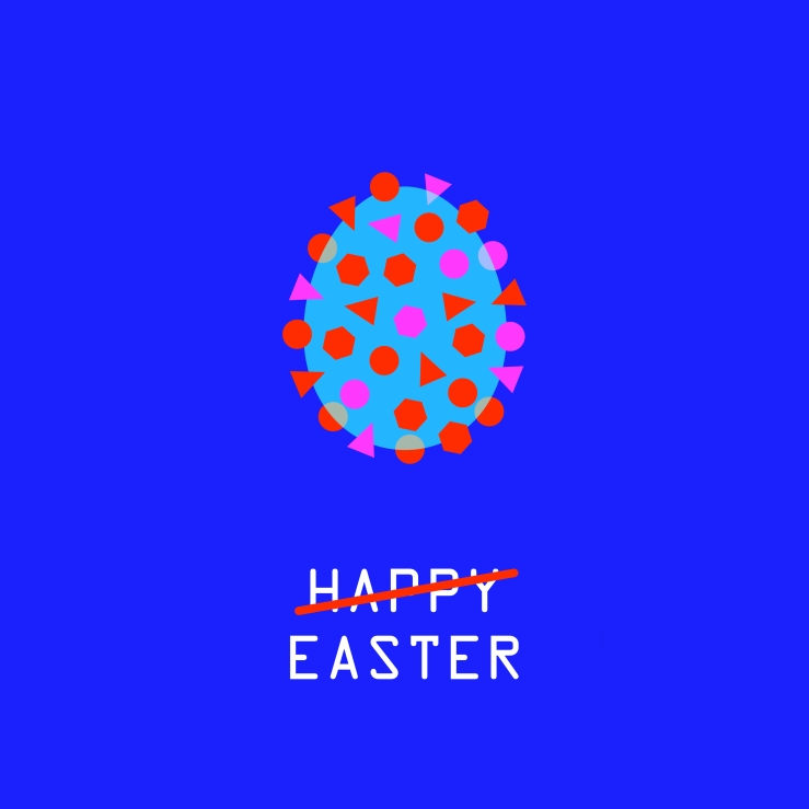 happy easter coronavirus web